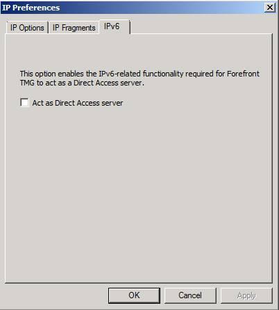 Cấu hình Forefront TMG làm máy chủ DirectAccess 7